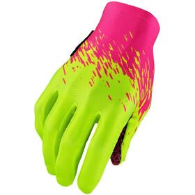 Supacaz SupaG Handschuhe langfinger neon pink/neon gelb